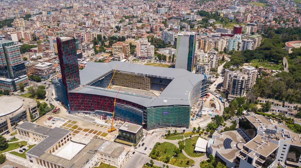 Arena Kombëtare w Tiranie