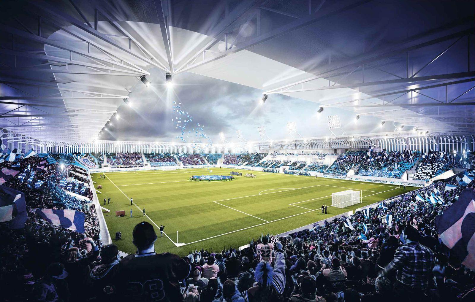 Nowy stadion Ruchu Chorzów