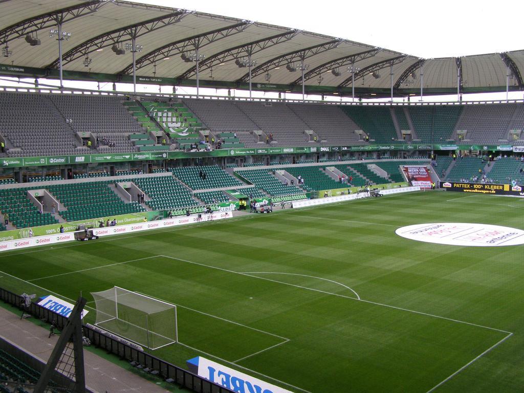 Volkswagen Arena w Wolfsburgu
