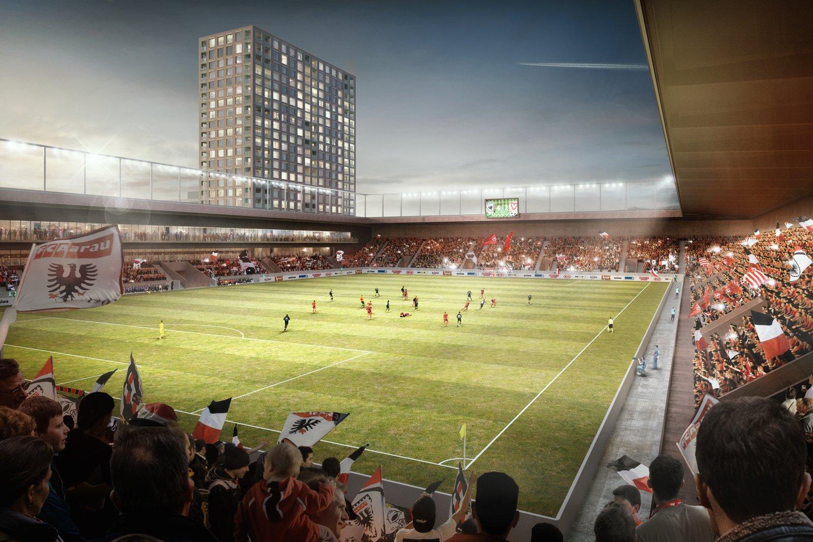 Projekt stadionu Torfeld Sud