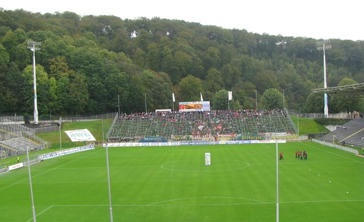 Stadion am Zoo w Wuppertal