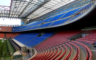 Milan: San Siro capacity cut for safety reasons