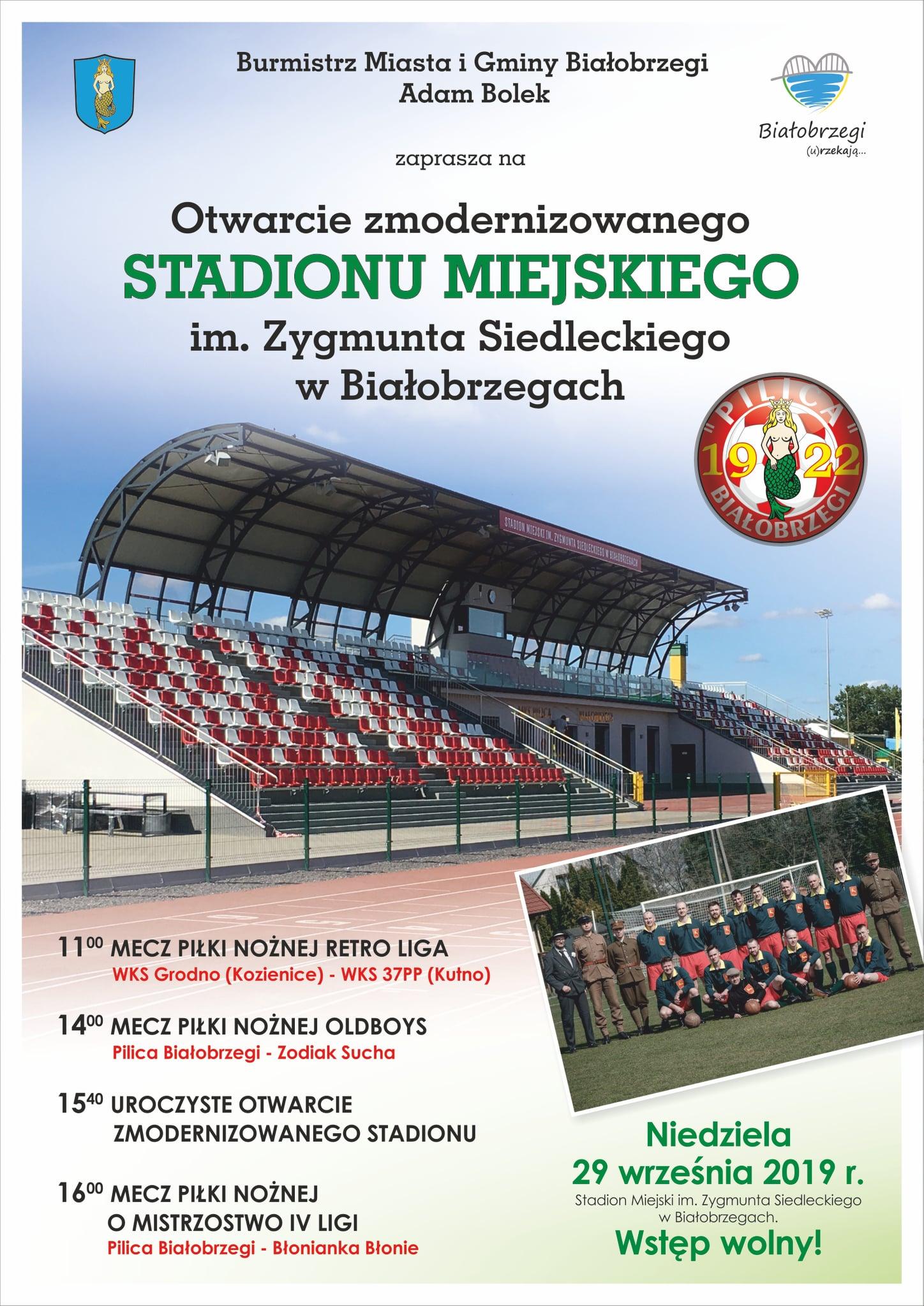 Stadion Miejski w Białobrzegach