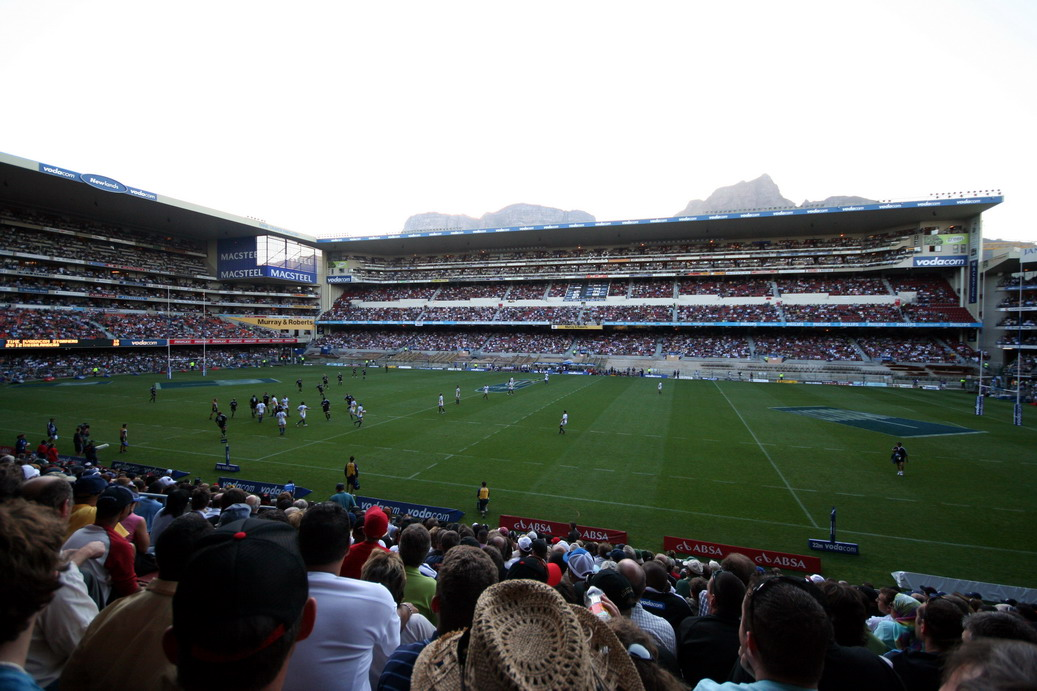 Newlands Stadium in Cape Tpwn