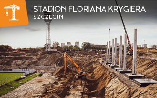 New construction: Stadion Floriana Krygiera