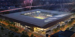 Columbus: Construction on Crew stadium officially ongoing