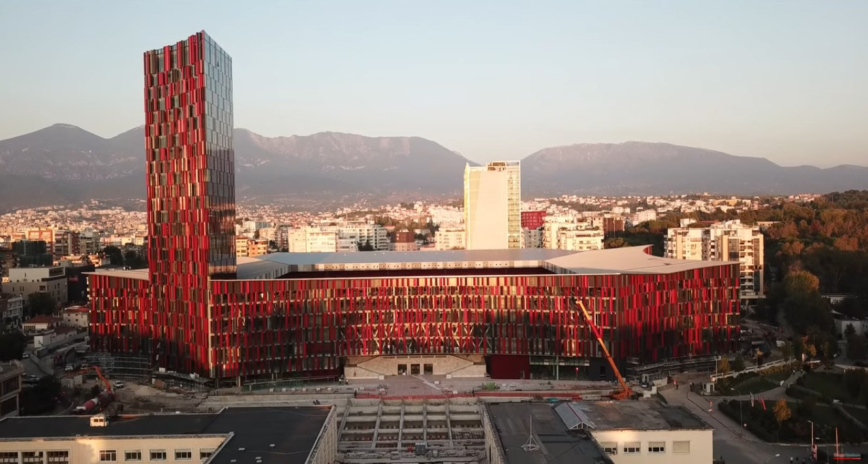 Arena Kombëtare in Tirana