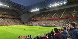Liverpool: The Reds reveal new Anfield Road Stand
