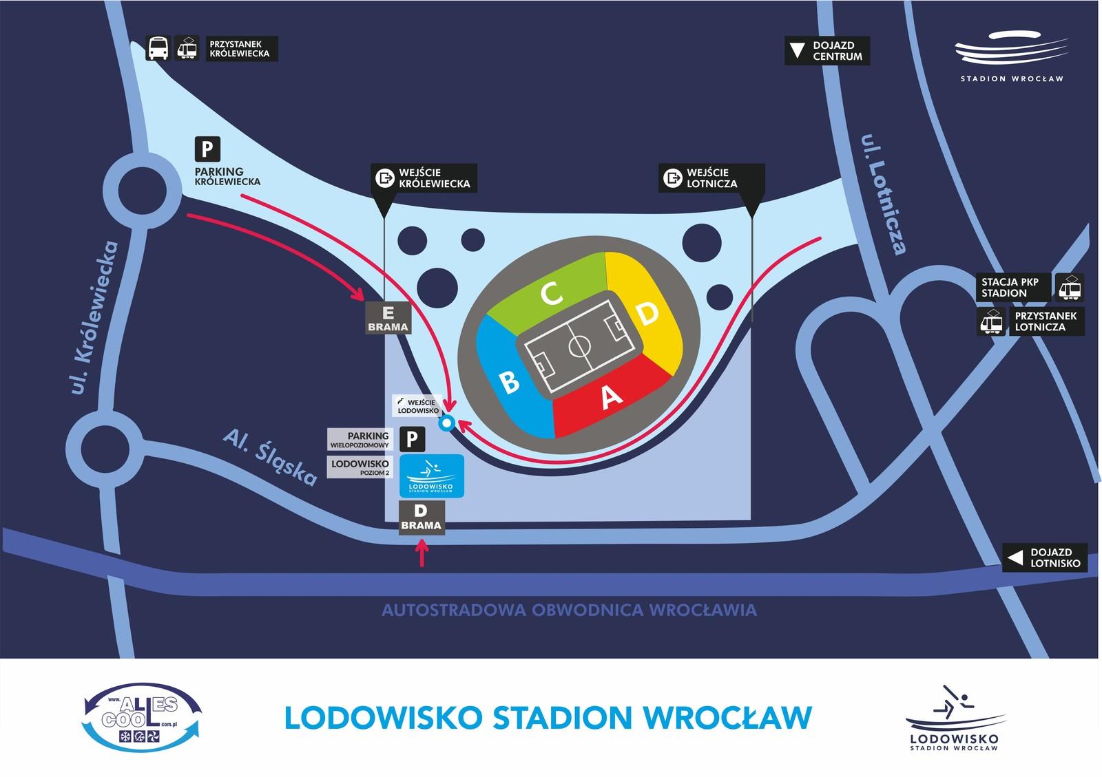 lodowisko - Stadion Wrocław