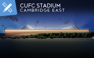 New design: Cambridge United's ambitions on show