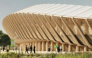 England: Hadid's green stadium approved
