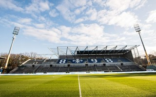 Germany: First grandstand in Darmstadt nearly complete