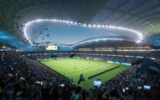 Sydney: Sydney Football Stadium more expensive and less supported