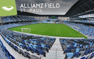 New stadium: Minnesota United under the loon's wings