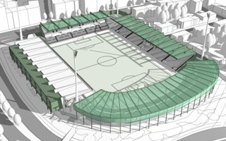 Munich: Grünwalder Stadion revamp taking shape