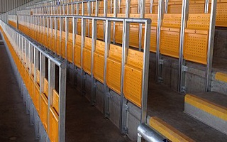 "England: Safe standing has ""positive impact on spectator safety"""