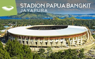 New stadium: Welcome to New Guinea!