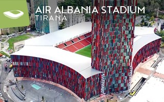 New stadium: Italian gem of Albania