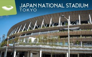 New stadium: Here comes Tokyo's timber stadium