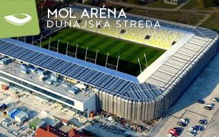 New stadium: MOL Aréna in Dunajska Streda