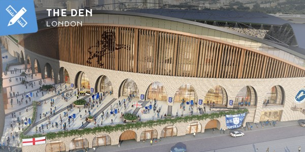 New design: Millwall's new vision for The Den