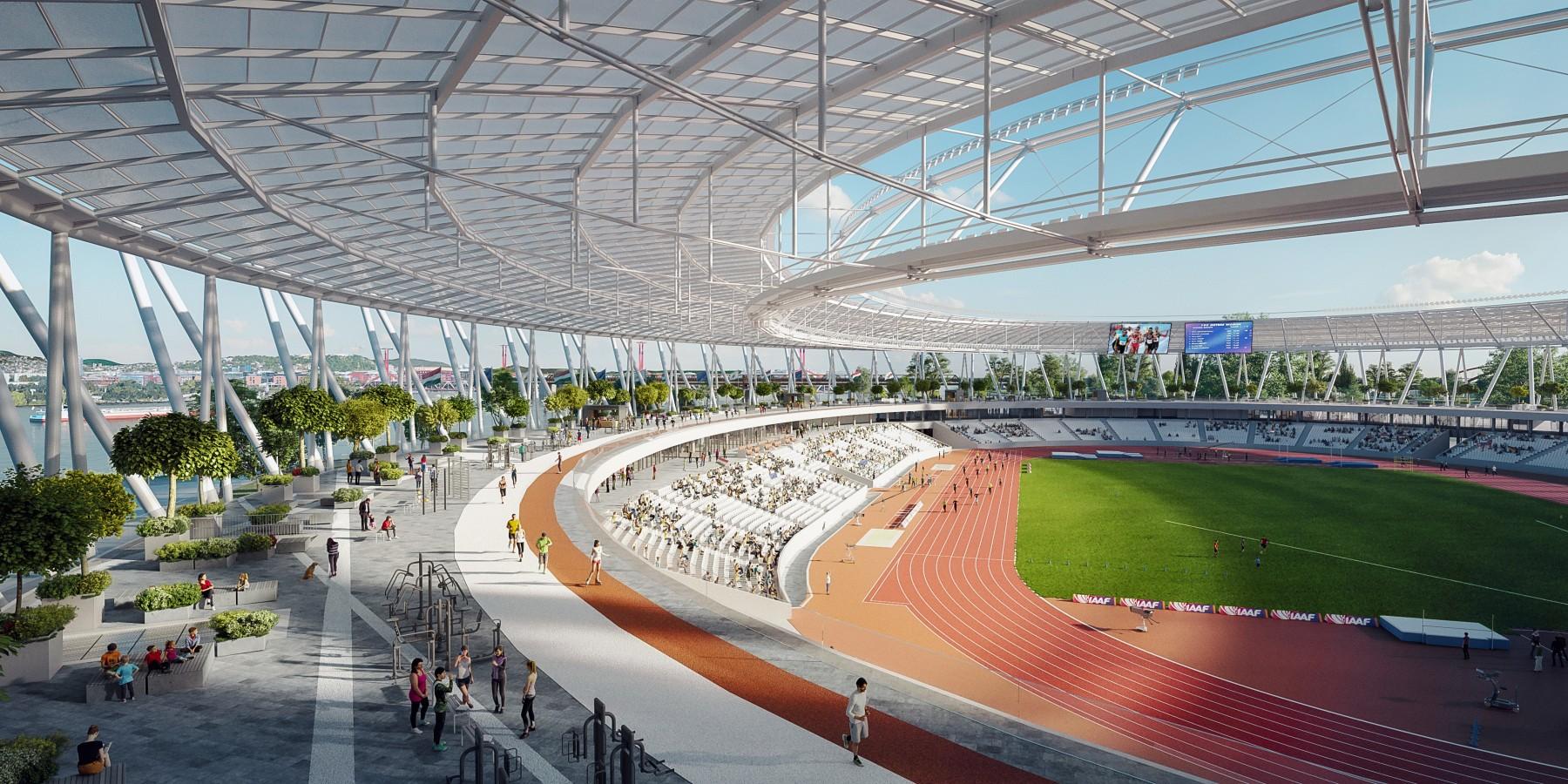 Budapest Athletics Stadium