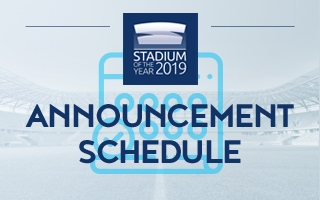 Stadium of the Year: Announcement on March 23