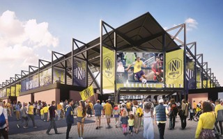 Tennessee: Demolition begins for Nashville stadium