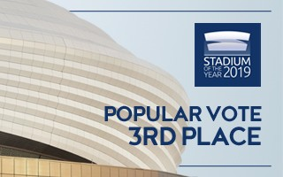 Stadium of the Year: Popular Vote 3rd – Al Janoub Stadium