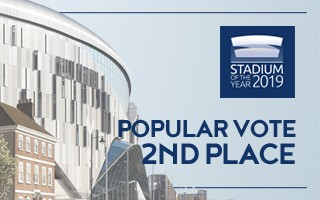 Stadium of the Year: Popular Vote 2nd – Tottenham Hotspur Stadium