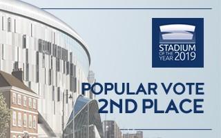 Stadium of the Year: Popular Vote 2nd – Tottenham Hotspur Stadium
