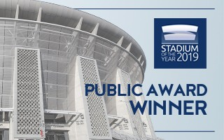 Stadium of the Year: Public Award – Puskás Aréna