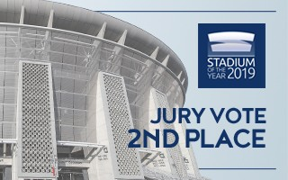 Stadium of the Year: Jury Vote 2nd – Puskás Aréna