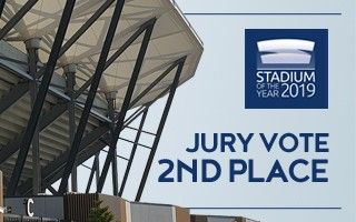 Stadium of the Year: Jury Vote 2nd – Bankwest Stadium