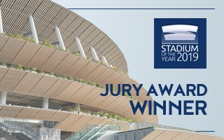 Stadium of the Year: Jury Award – Japan National Stadium