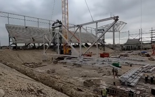 Texas: Austin FC construction halted due to COVID-19