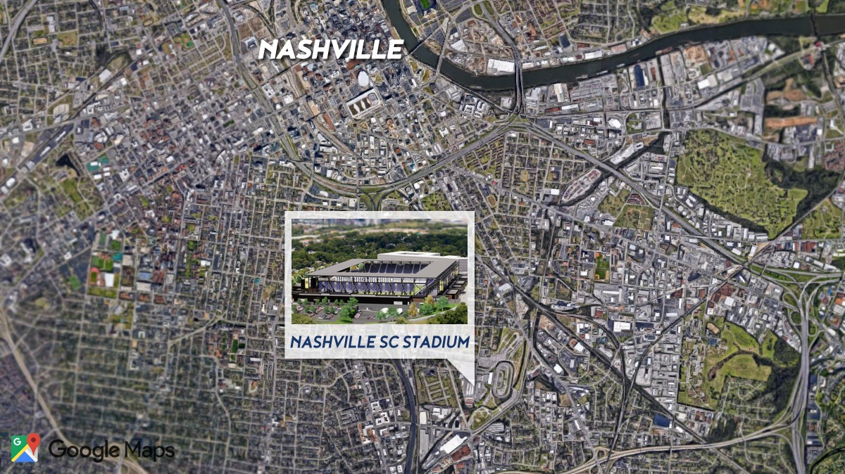 Nashville SC stadium