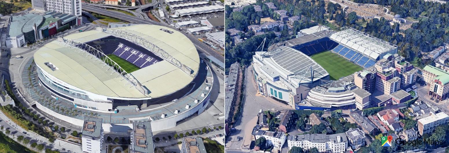 COVID-19 stadiums