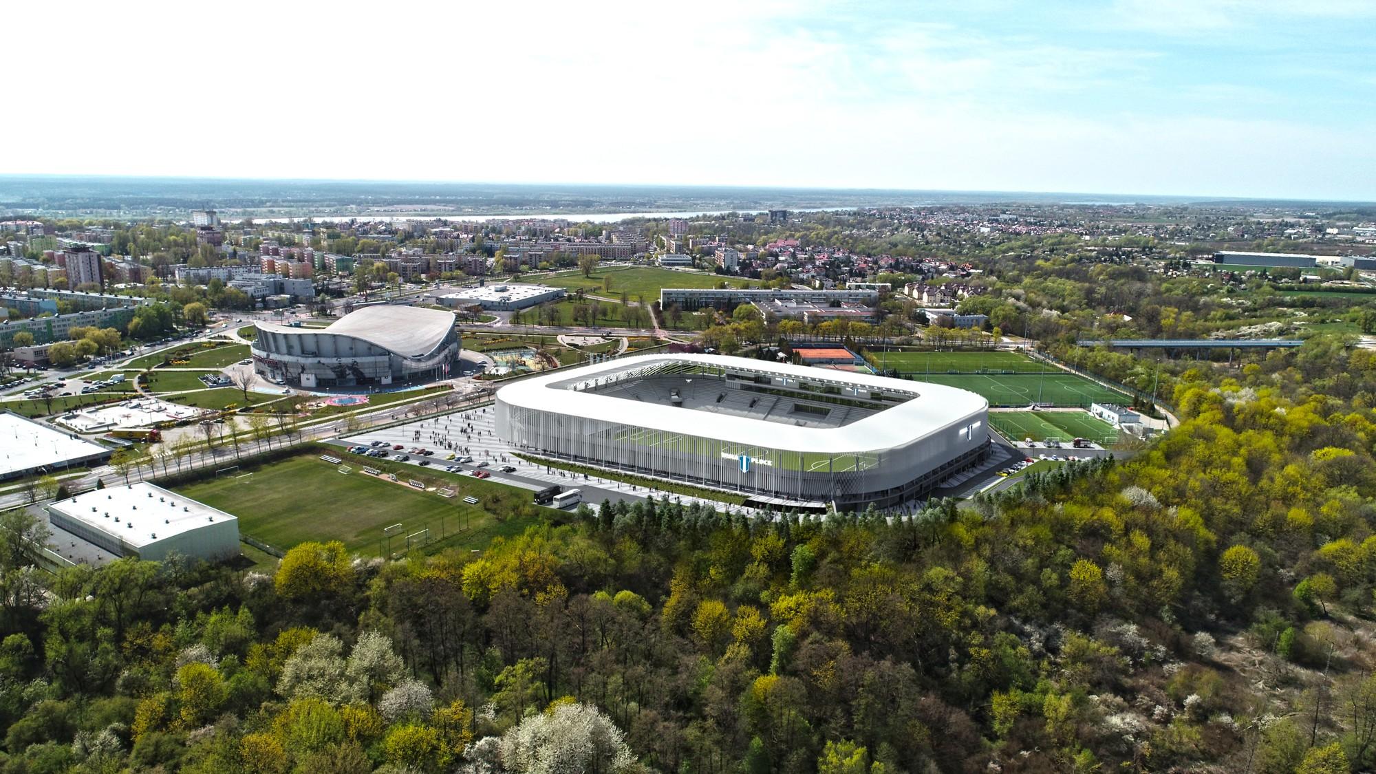 Nowy stadion Wisły Płock