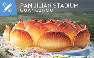 New design: The monstruous flower of Guangzhou