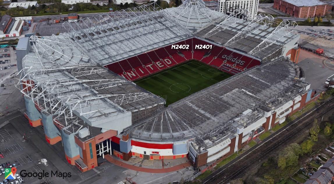 Old Trafford safe standing