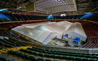 COVID-19 crisis: First patients admitted to Principality Stadium