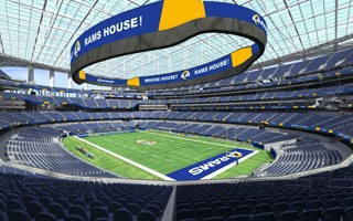 Los Angeles: $500 million more for SoFi Stadium