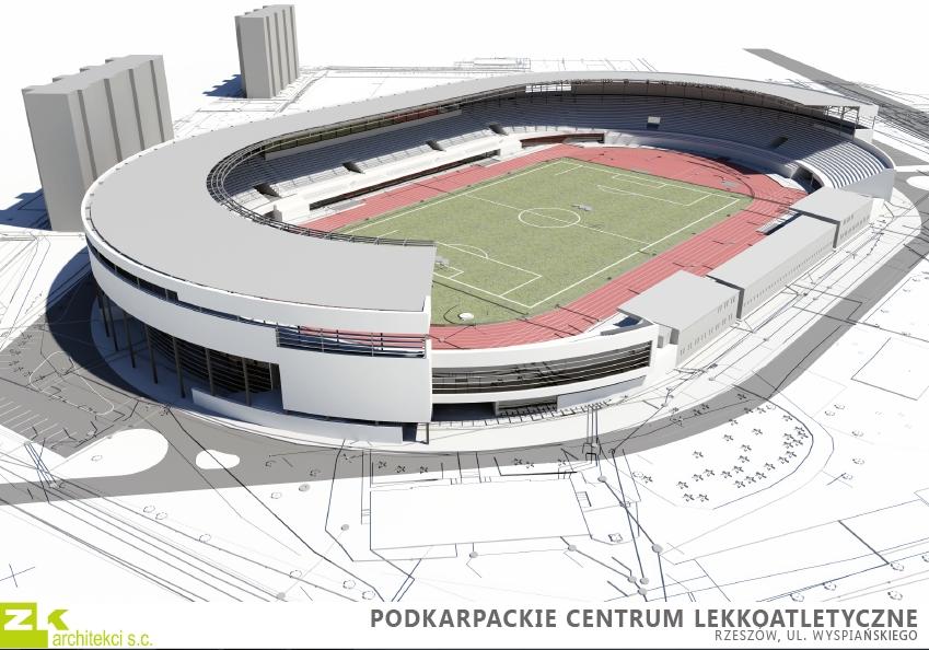 Stadion Resovii - Podkarpackie Centrum Lekkiej Atletyki