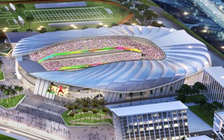 Miami: Upzoning application for Freedom Park Stadium filed