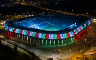 Jerusalem: Teddy Stadium's impressive new illumination