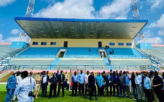 Somalia: National stadium reopened and immediately shelled with mortar