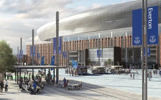 Everton's stadium on track despite recent changes