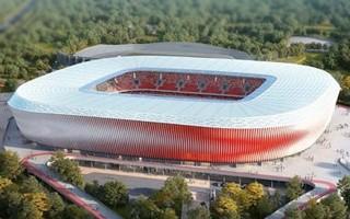 Belarus: New national stadium in Minsk officially under construction