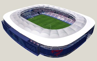 Valencia: Levante to have new roof by October